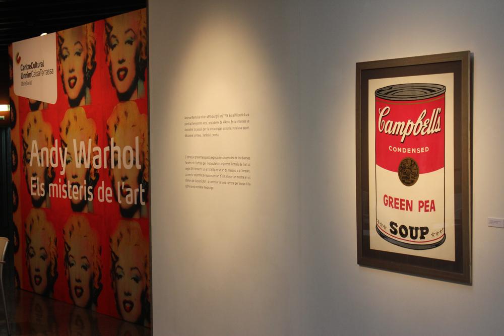 Exposició Andy Warhol