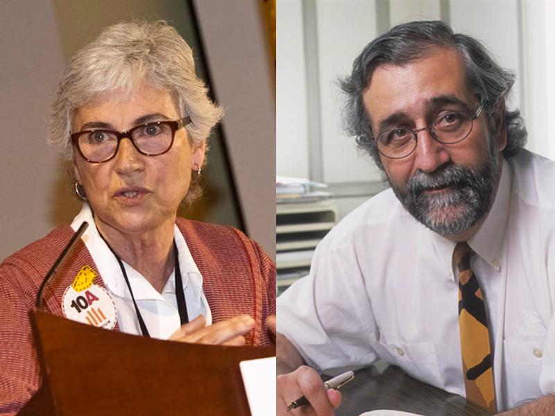 Muriel Casals i Vicenç Villatoro