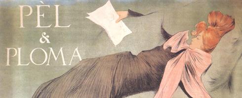 Cartells modernistes de Ramon Casas. Col·lecció Marc Martí