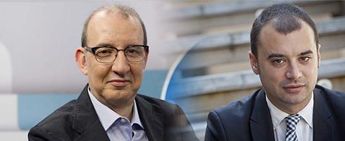 Antoni Bassas entrevista l'alcalde de Terrassa, Jordi Ballart