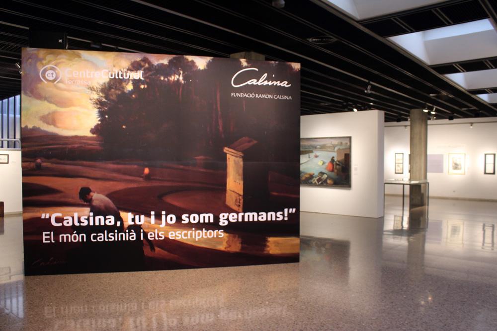 "Exposició: ""Calsina, tu i jo som germans"""