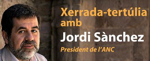Jordi Sánchez, president de l'A.N.C.