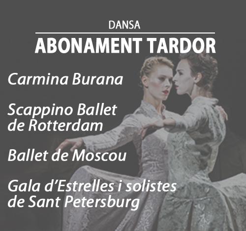 ABONAMENT DE DANSA · TARDOR