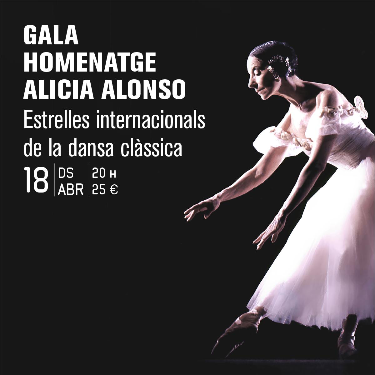Gala Homenatge Alicia Alonso